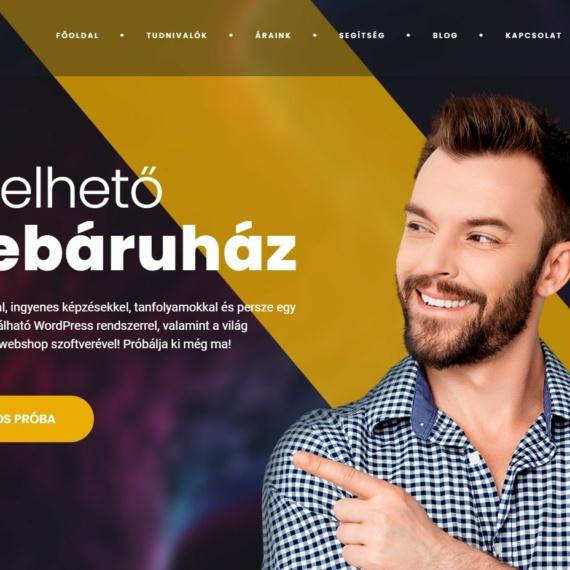 Havidíjas bérelhető webshop akciós áron
